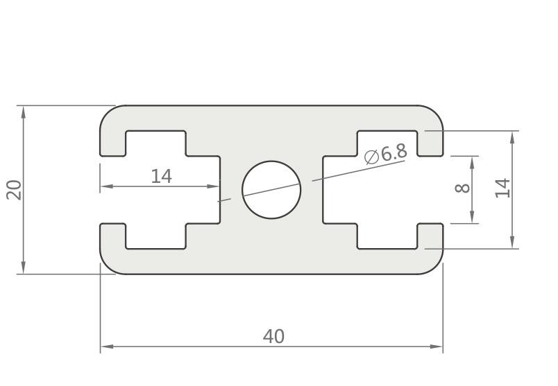 国标铝型材JL-8-2040GA