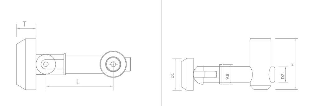 斜角连接件