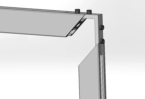 专用角槽连接件