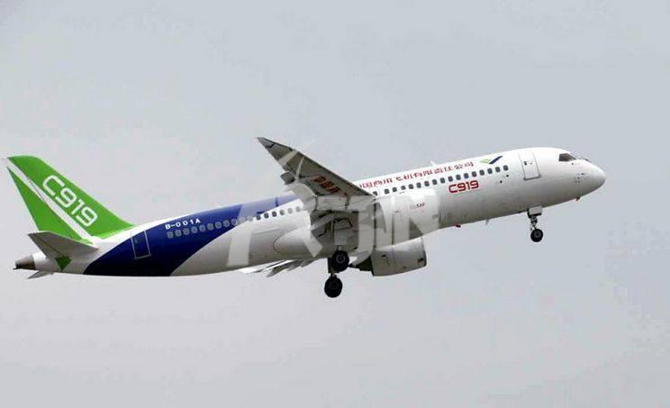 铝合金C919客机