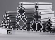 欧标铝型材三维图