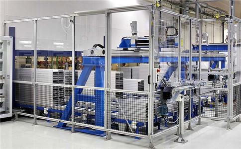 工業鋁型材圍欄
